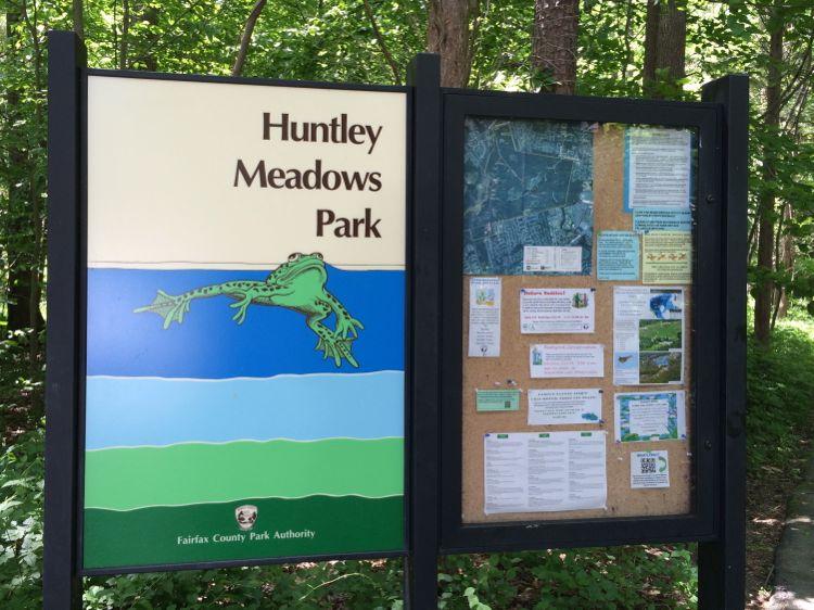 Huntley Meadows Park entrance