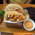Chicken tacos at Austin Grill