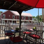 Main Street Pub patio, Clifton Virginia