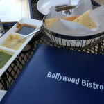 Papadum sauces Bollywood Bistro