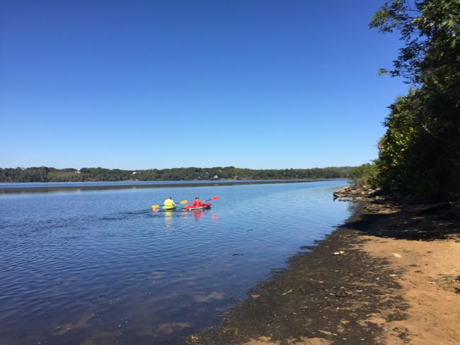 Beach and boating at Mason Neck SP
