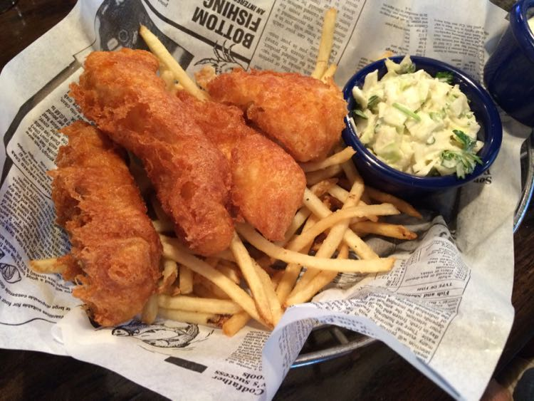 Fords Fish Shack fish and chips