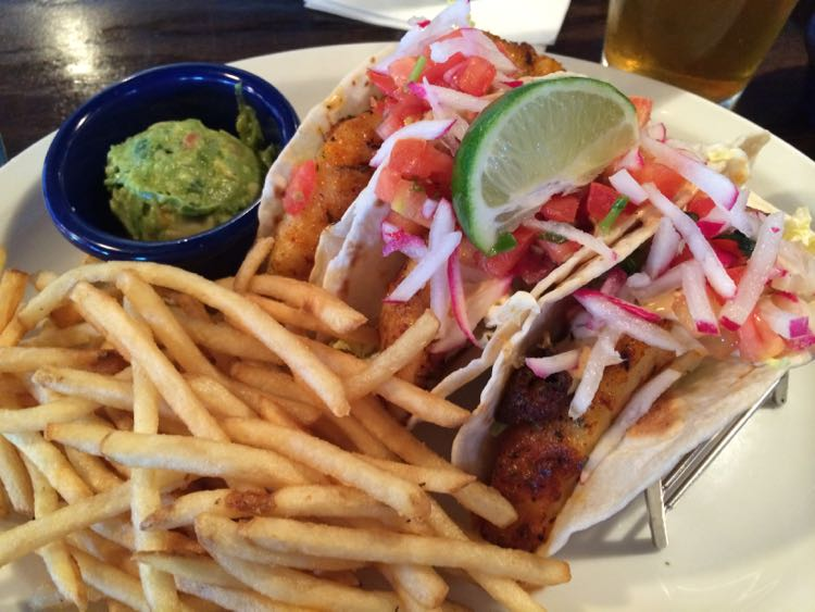 Fords Fish Shack fish tacos in Northern Virginia