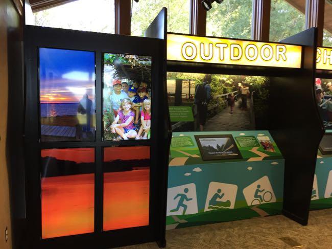 Interactive displays Mason Neck SP