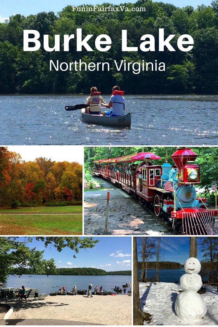 A trip around Burke Lake Park in Northern Virginia offers fun for every age—hike, bike, fish, ride the train, play mini and disc golf, or just relax.