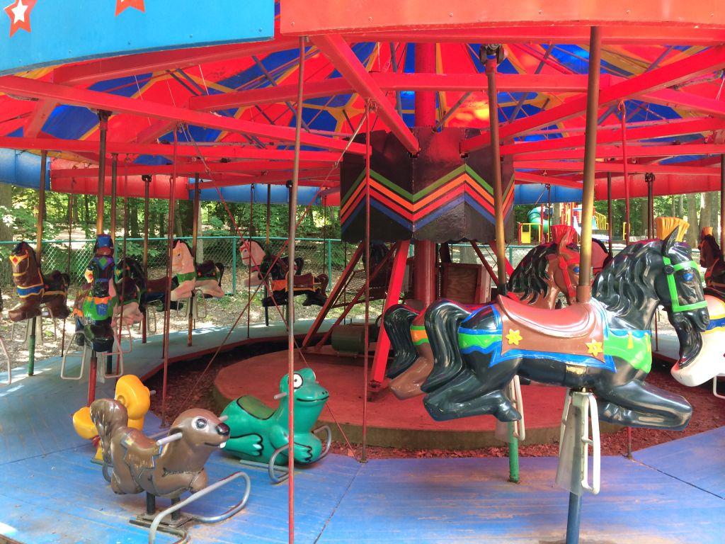 Burke Lake carousel