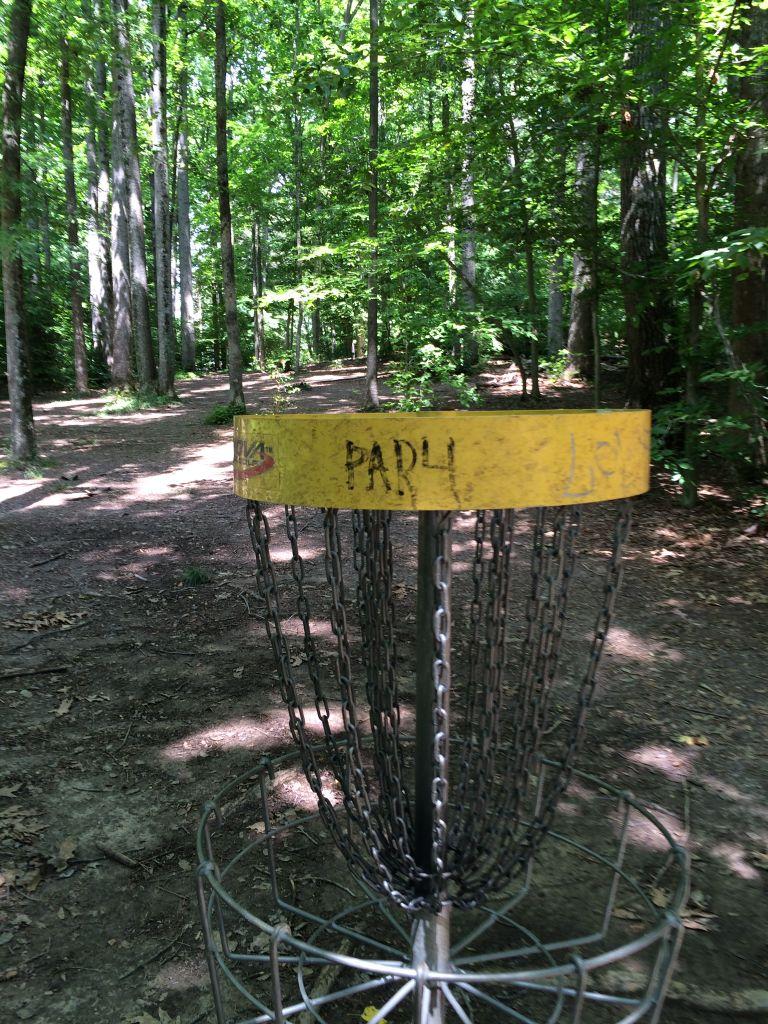 Burke Lake frisbee golf