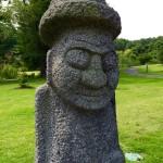 Korean statue Meadowlark Gardens Virginia