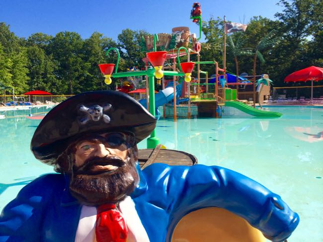 Pirate's Cove water park at Pohick Bay