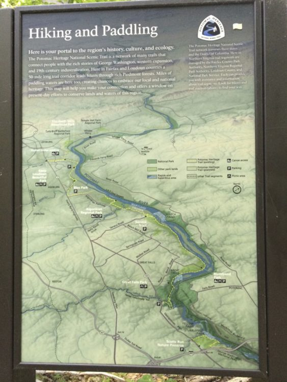 Potomac Heritage Trail Map