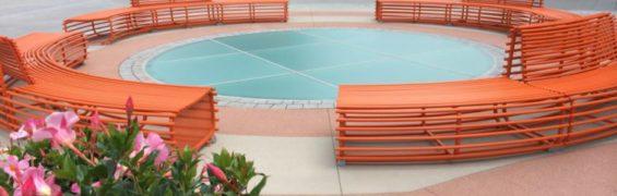 Tysons Plaza seating