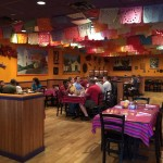 Dining area at Picante! in Chantilly VA