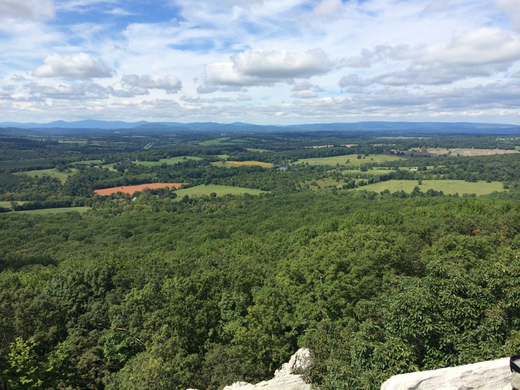View from Bull Run Mtn