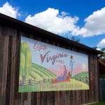 The Winery at Bull Run mural