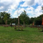 The Winery at Bull Run outdoor seating