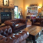 The Winery at Bull Run label seating