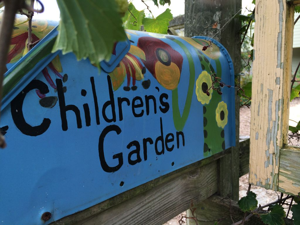 Childrens Garden Green Spring