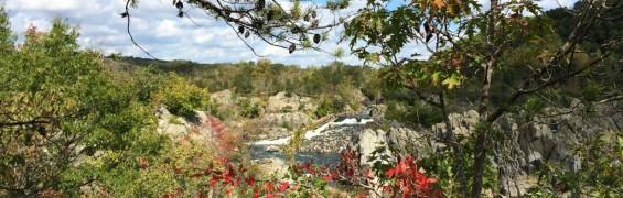 Fall colors at Great Falls