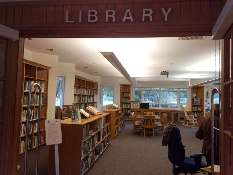 The library at Green Spring Gardens, Virginia