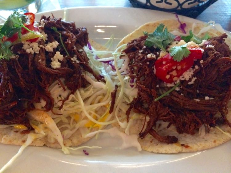 Paladar happy hour tacos in Tysons Virginia