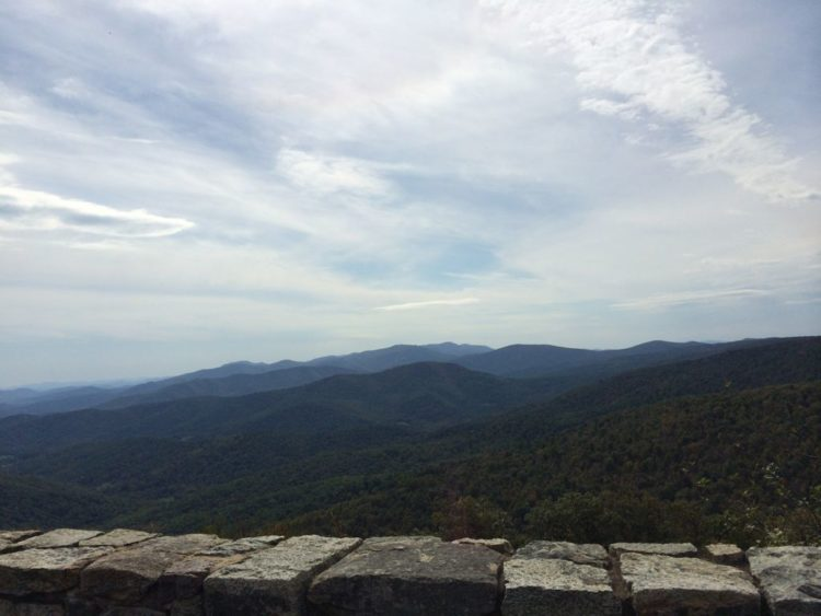 Range View Overlook, Shenandoah National Park Virginia