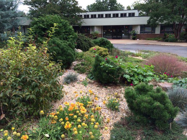 Rock garden at Green Spring Gardens