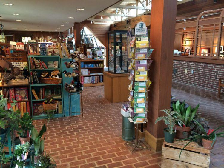 The shop at Green Spring Gardens, Fairfax County Virginia