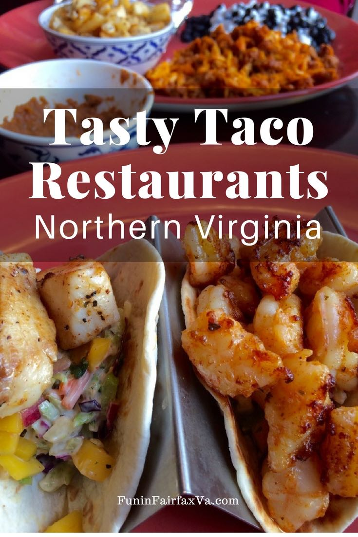 Virginia US taco restaurants. Here are our favorite restaurants serving tasty tacos in Northern Virginia, whether you want to grab some quick takeout, or relax with a sit-down meal.