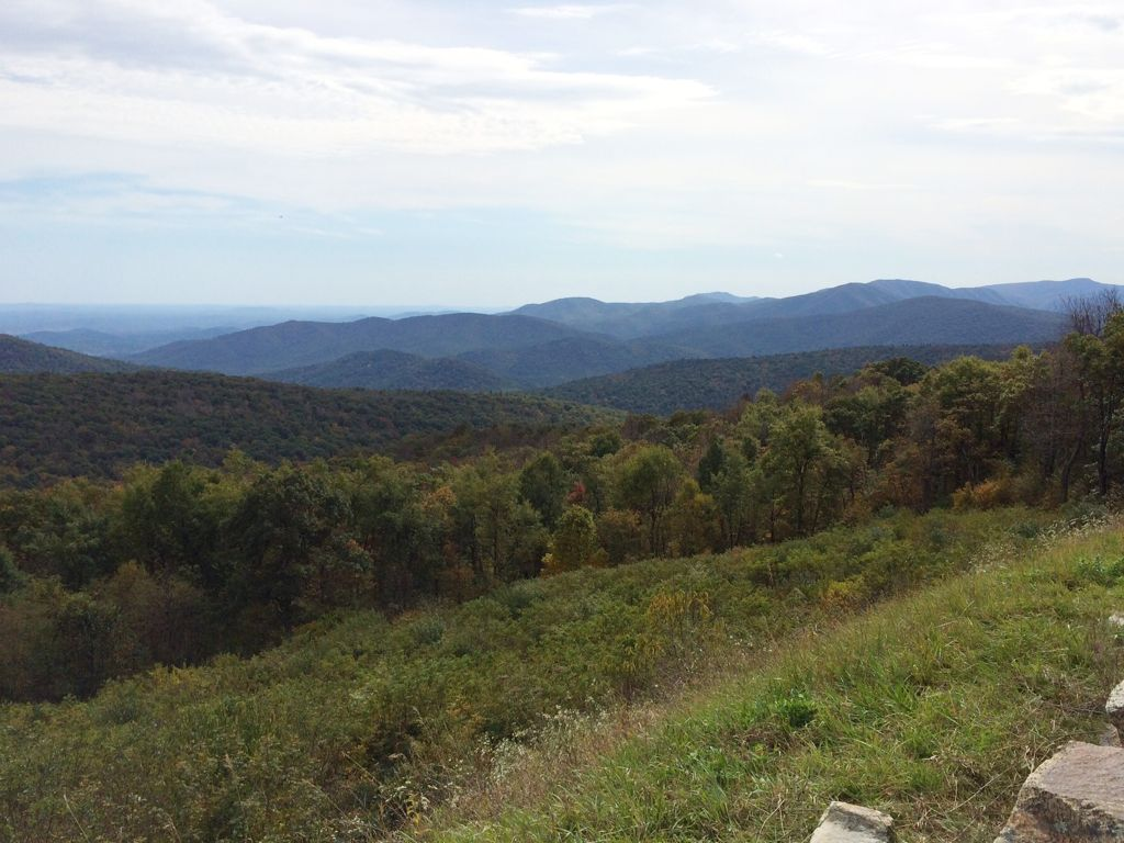 Thorofare Mountain Overlook Shenandoah