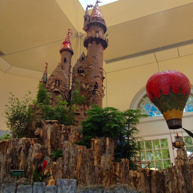 Holiday Train Display Botanical Garden Dc