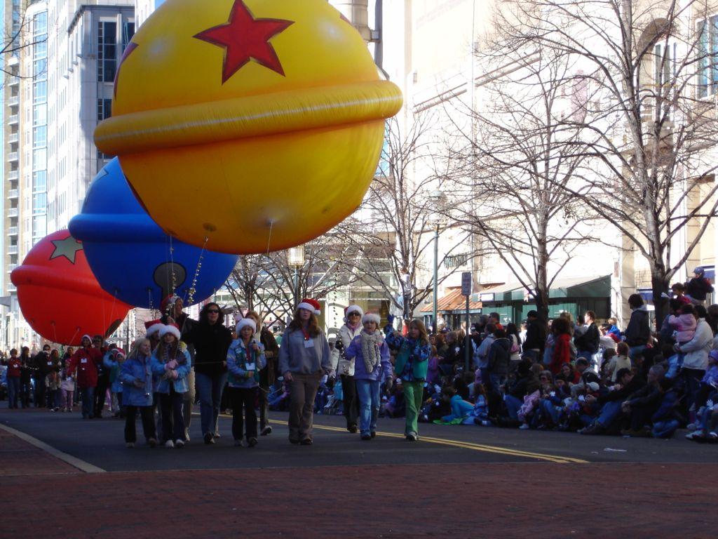 Thanksgiving parade at Reston Town Center