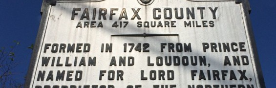 Fairfax County marker cropped
