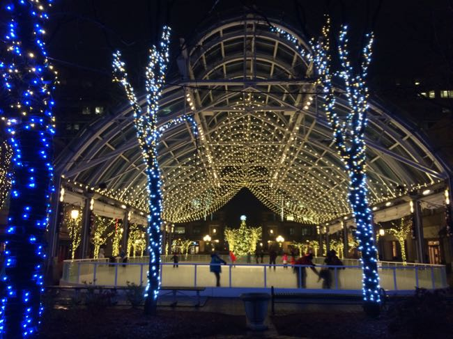 Reston Town Center ice skating pavilion