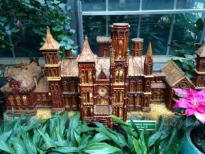 Smithsonian Castle model, US Botanic Garden
