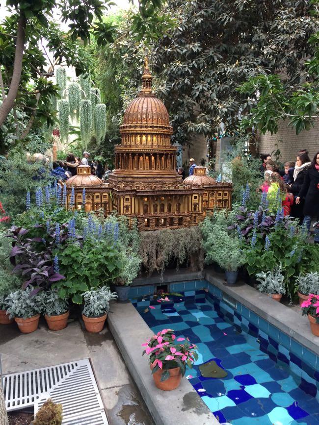 US Botanic Garden Capitol model DC
