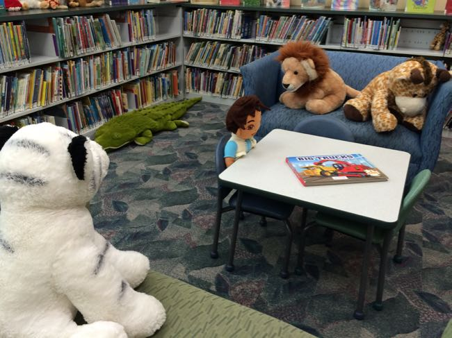 Great Falls library children's area
