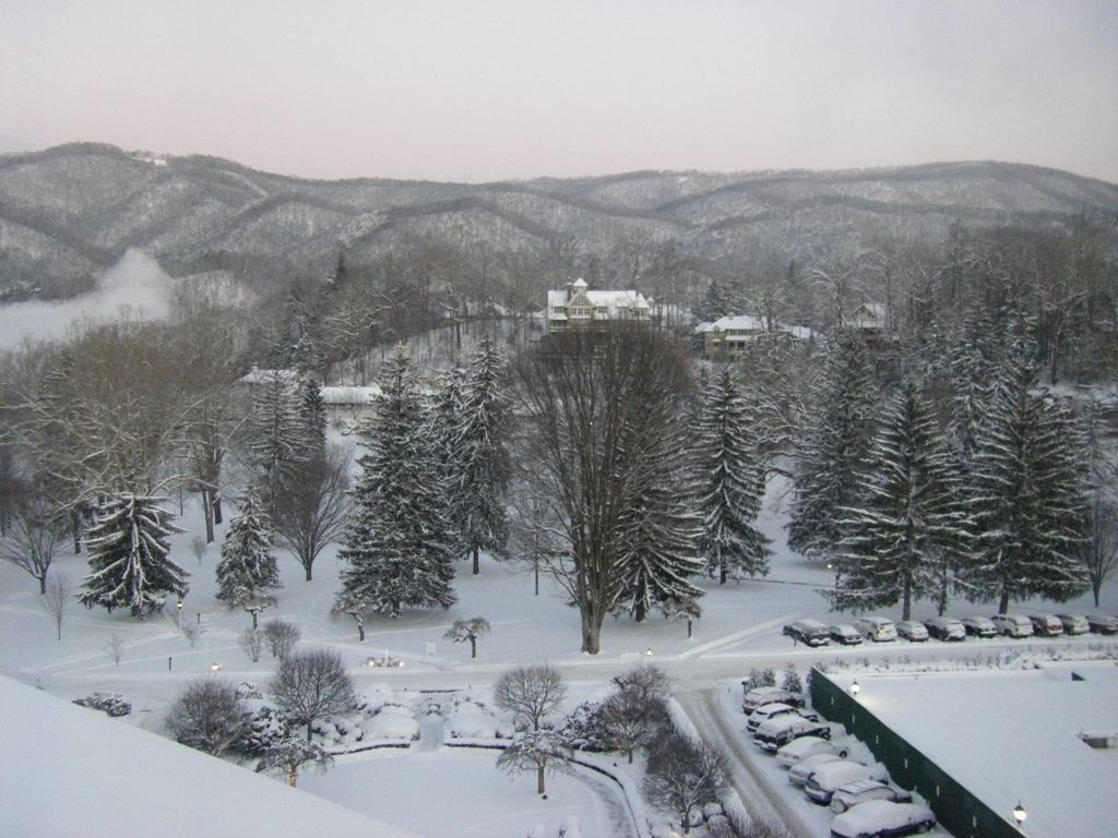 East Terrace Suite view, Greenbrier