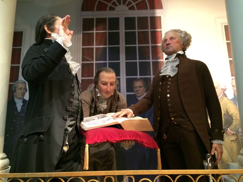 Swearing in of George Washington