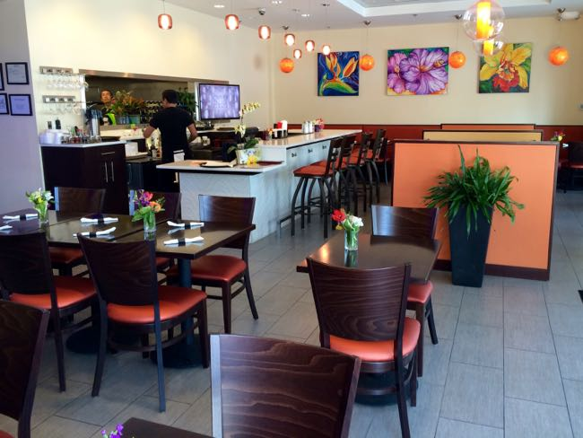 Hibiscus Thai interior, Reston Virginia