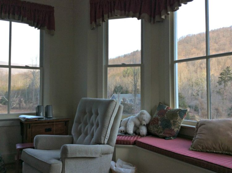 The Inn at Sugar Hollow is one romantic option for a weekend getaway in Northern Virginia