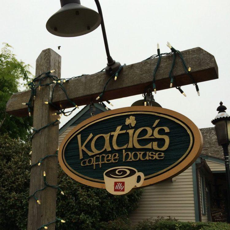 Katies sign close-up