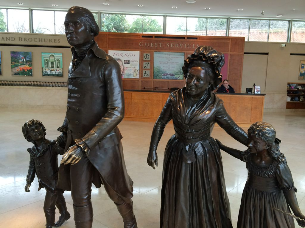 Washington family at Mount Vernon
