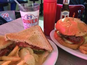 29 Diner BLT and burger