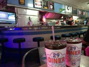 29 Diner interior
