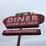 29 Diner sign