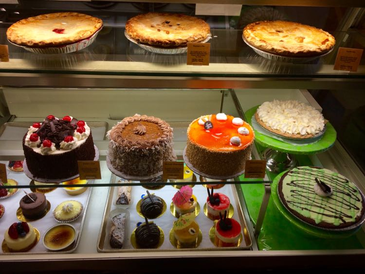 Amphora Bakery display case in Vienna VA