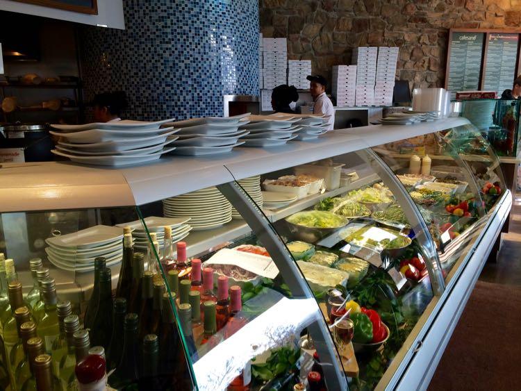 Cafesano salad case and pizza oven Reston VA