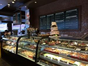 Shilla Bakery counter