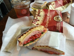 Lunch panini Shilla Bakery
