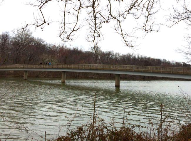 Roosevelt Island footbridge